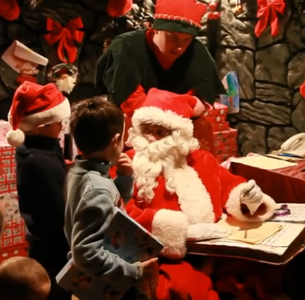 Santa Workshops (and Sensory Day) at Aillwee Cave