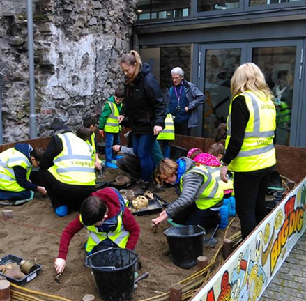 Dig for ancient Viking treasure at the Dublinia Big Dig