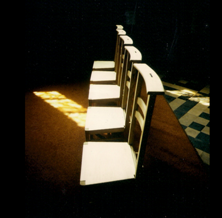 Assembly Memorial Chairs at Dublin City Hall