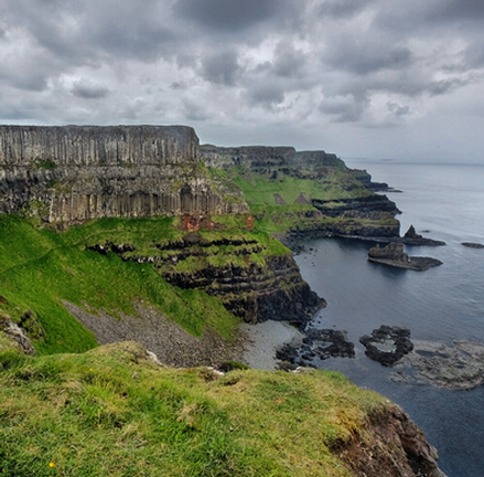 Clifftop Experience Walk at the Giant's Causeway