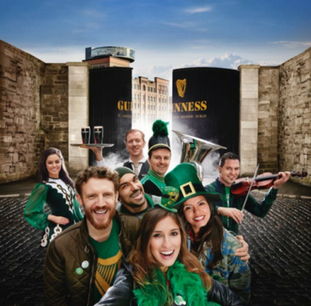 St. Patrick's Festival at the Guinness Storehouse