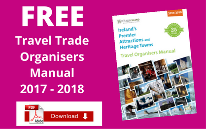Free Ireland Travel Organisers Manual 2017 / 2018 (PDF Version)
