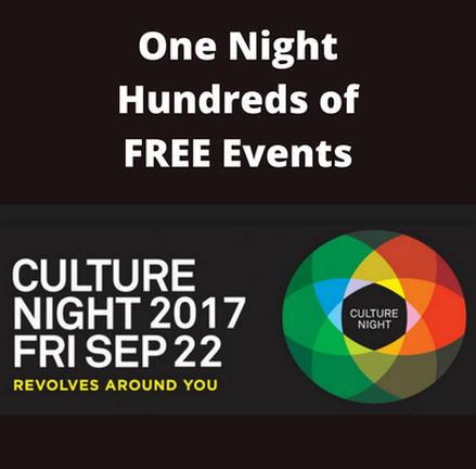 Culture Night around Ireland