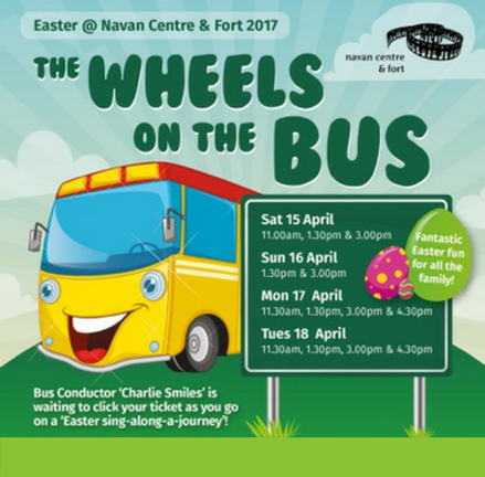 The Wheels on the Bus, Easter at Navan Centre & Fort, Armagh