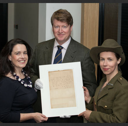 Historic Patrick Pearse Letter on display until November 28, at GPO Witness History!