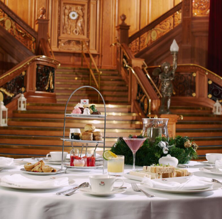 Festive Afternoon Tea at Titanic Belfast