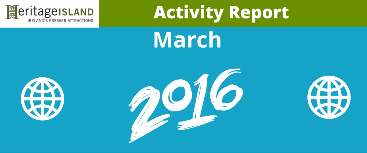 Heritage Island March Activity Report