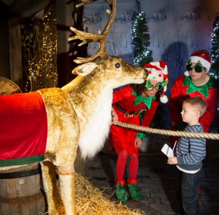 Santa Wonderland Experience at the Dunbrody Famine Ship