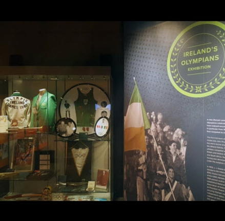 'Ireland's Olympians' Exhibition at the GAA Museum