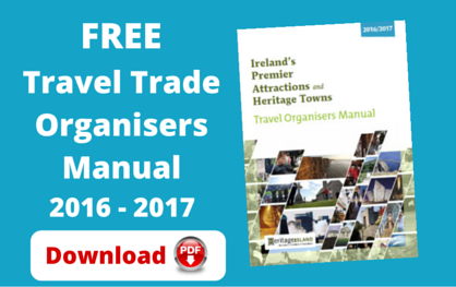 Free Ireland Travel Organisers Manual 2016 / 2017 (PDF Version)