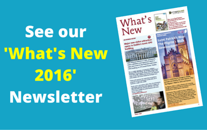 View our 'What's New' Newsletter 2016