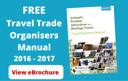 Free Ireland Travel Organisers Manual 2016 / 2017 (eBrochure Version)