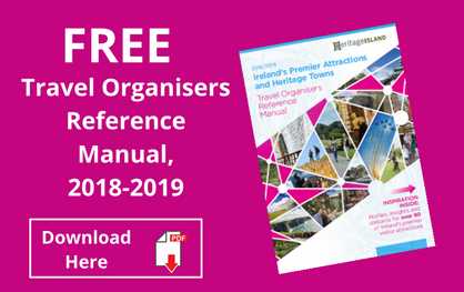 Free Ireland Travel Organisers Manual 2018 / 2019 (PDF Version)