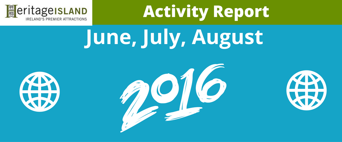 Heritage Island June to August Activity Report