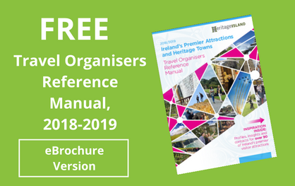 Free Ireland Travel Organisers Manual 2018 / 2019 (eBrochure Version)
