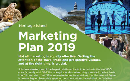 WIN more Business - Heritage Island Marketing Plan 2019