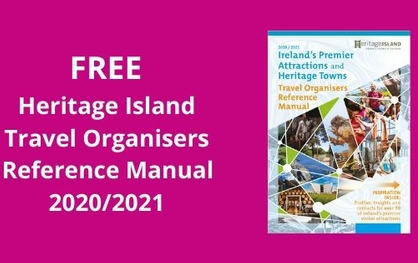 FREE Ireland Travel Organisers Reference Manual 2020/21