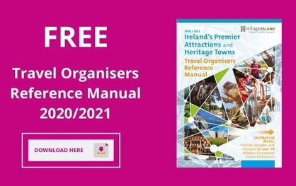 Free Ireland Travel Organisers Manual 2020 / 2021 (PDF Version)