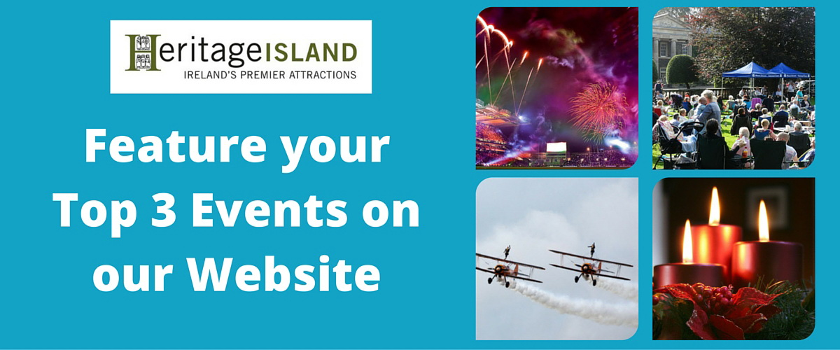 We'll Feature your TOP Events online